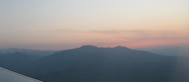 Sunset over Macedonia