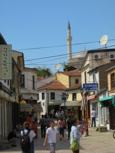 A typical view in the Old City.