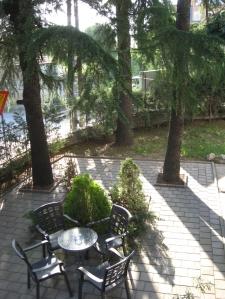 Garden of the Hotel Aleksandar