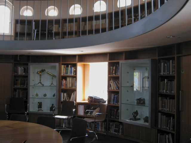 The Endeavour room in the Royal Observatory at Greenwich, where the 2014 SFF Masterclass was held. Not a bad place to work on a copyedit, either.