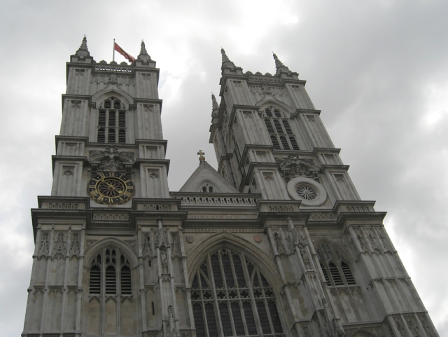 Westminster Abbey. This building only dates back to 1245, but Harold and William were both crowned at Westminster.