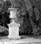 A replica of the Medici vase. The Renaissance garden was frequently decorated with oddments from antiquity.