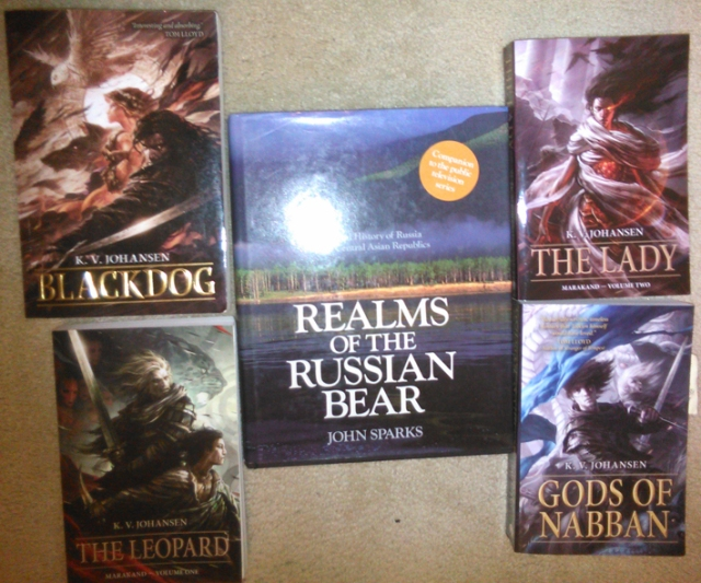 Realms of the Russian Bear, one of the godparents to the novels of the caravan road.